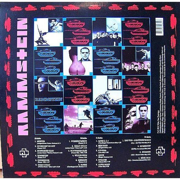 Rammstein Ein Bisschen Krieg! (Promo versions, demos, alternate mixes/takes) (RED WAX)