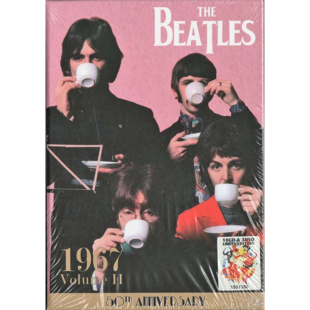 Beatles 1967 Volume 2 (Euro 2018 Ltd 350 no'd copies 10CD & 3DVD box + booklet!)