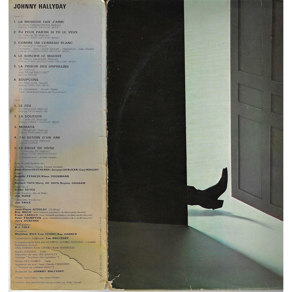 Johnny hallyday insolitudes / la musique que j'aime / tu peux partir si tu le veux