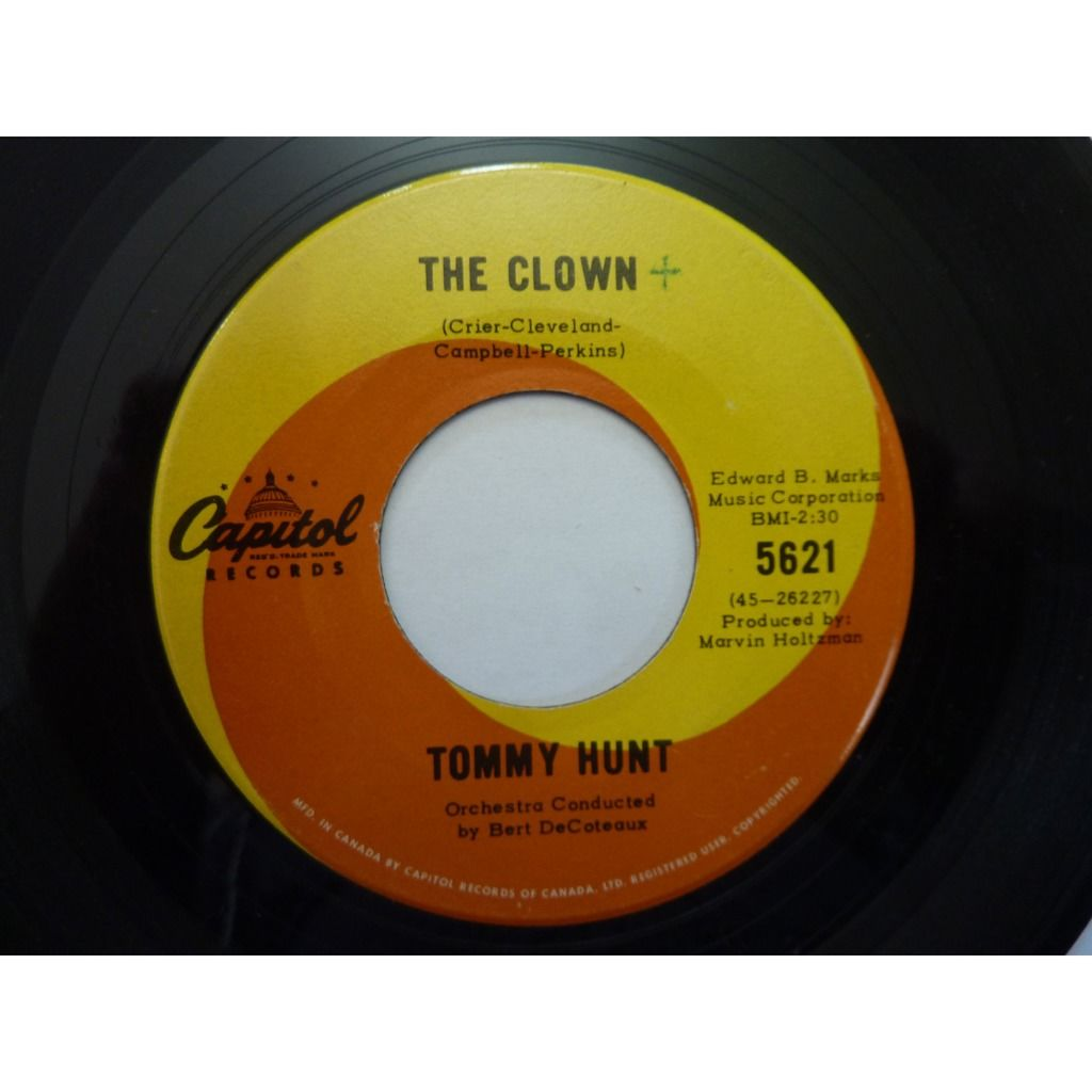Tommy Hunt I'll Make You Happy / The Clown