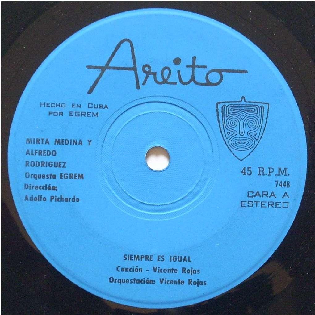 Mirtha Medina y Alfredo Rodriguez Siempre Es Igual / Pobre Don Juan