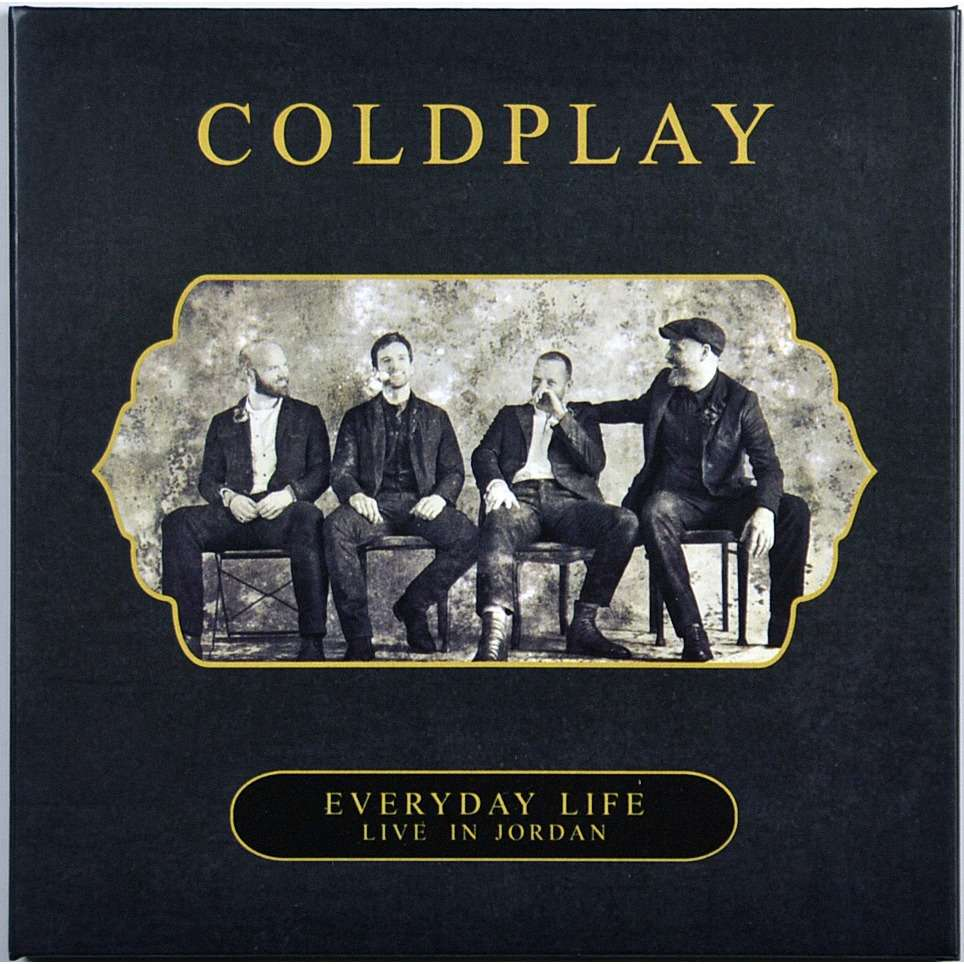 COLDPLAY Live at Amman Citadel Jordan 22 November 2019 Bonus Everyday Life Performance CD+DVD Digisleeve