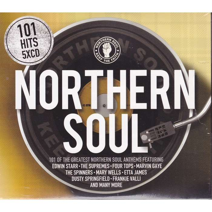 various artists 101 northern soul (5CDs)
