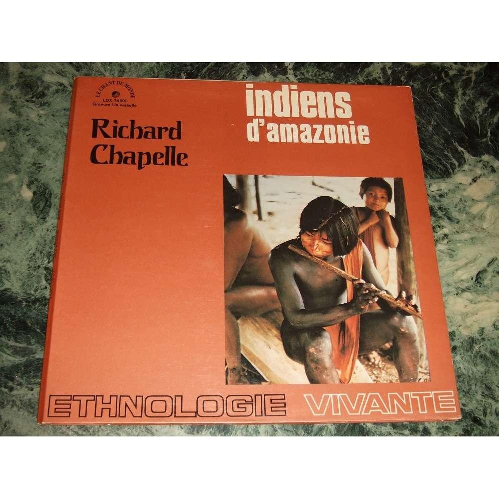 Richard Chapelle, Jacques Marion Indiens D'Amazonie (Dédicacé!)