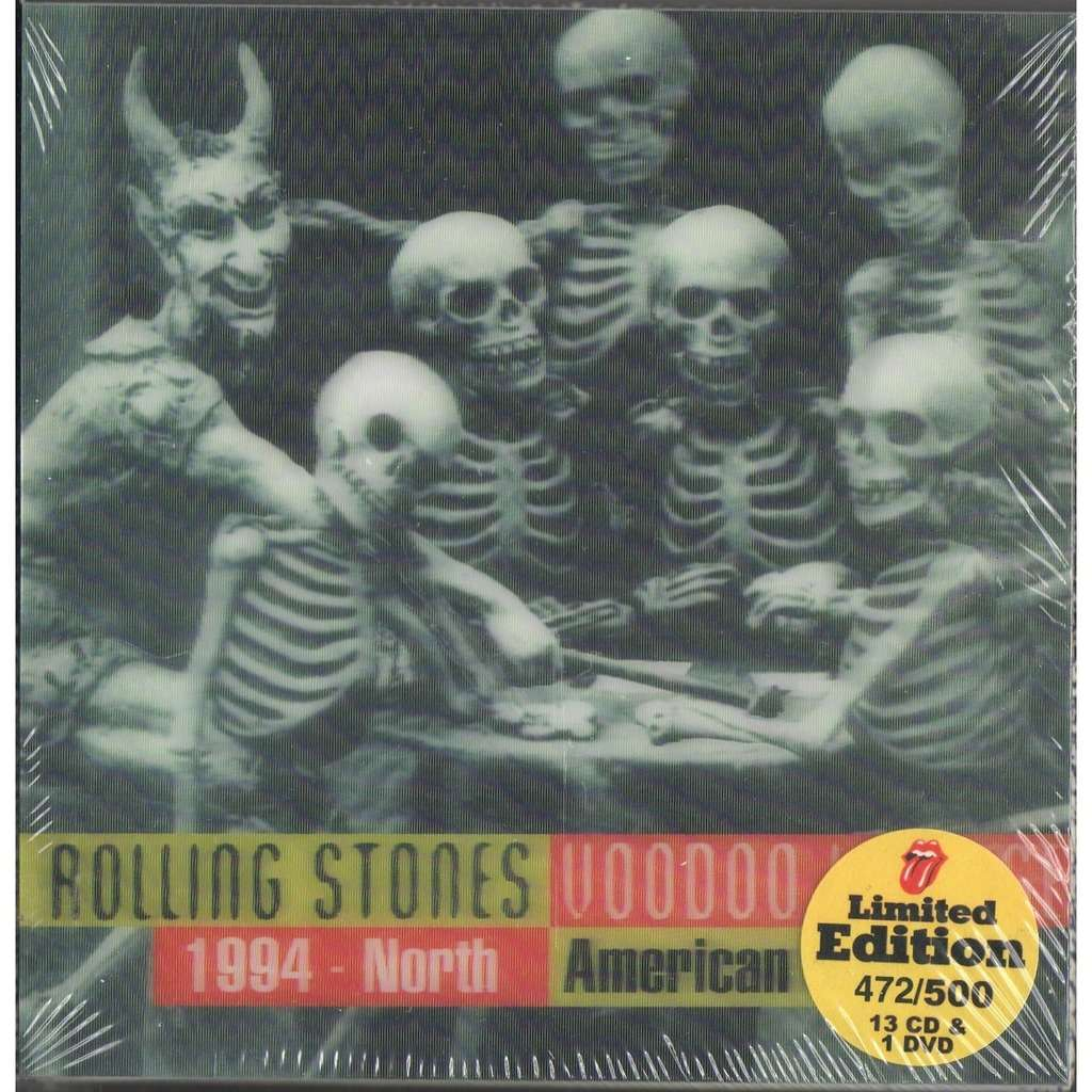 The Rolling Stones Voodoo Lounge 1994 North American Tour (Ltd 500 no'd copies live 13CD & DVD box + booket!)
