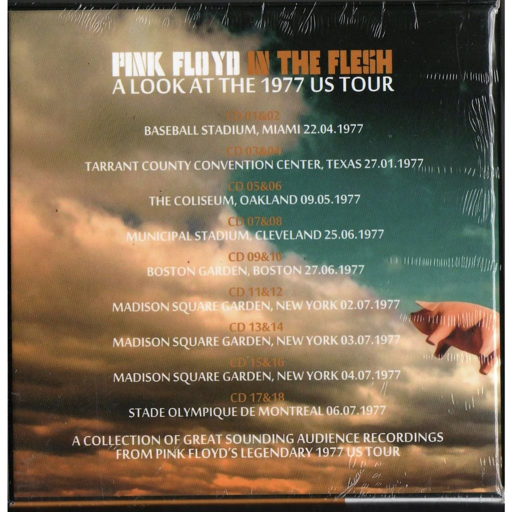 Pink Floyd In The Flesh - A Look At The 1977 US Tour (Ltd 300 no'd copies live 18CD Box & Booklet!)