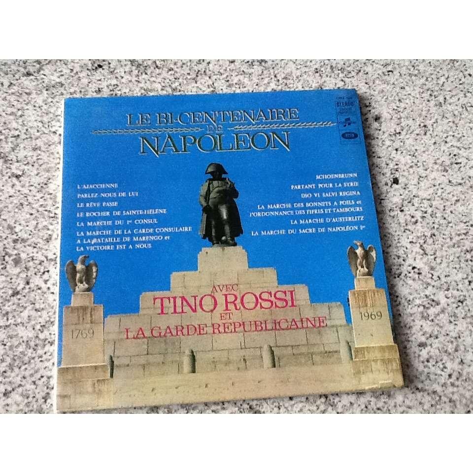Tino Rossi et la Garde Republicaine Le Bicentaire de Napoleon 1769/1969