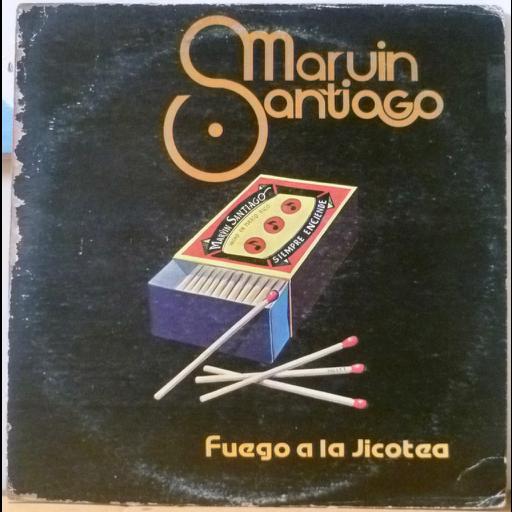 MARVIN SANTIAGO Fuego a la jicotea