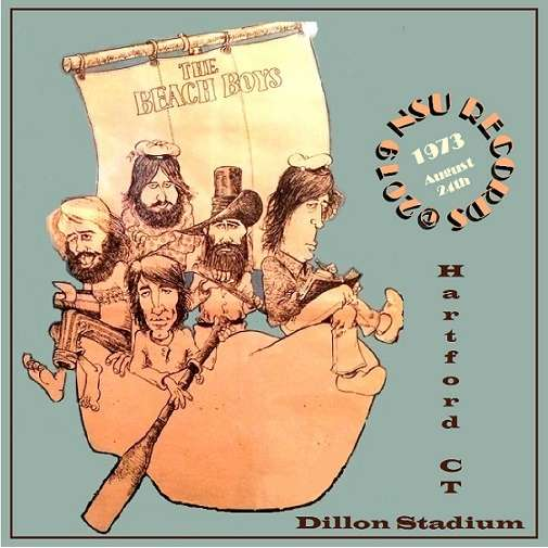 THE BEACH BOYS LIVE DILLON STADIUM IN HARTFORD, CT 1973 AUGUST 24th LTD 2 CD