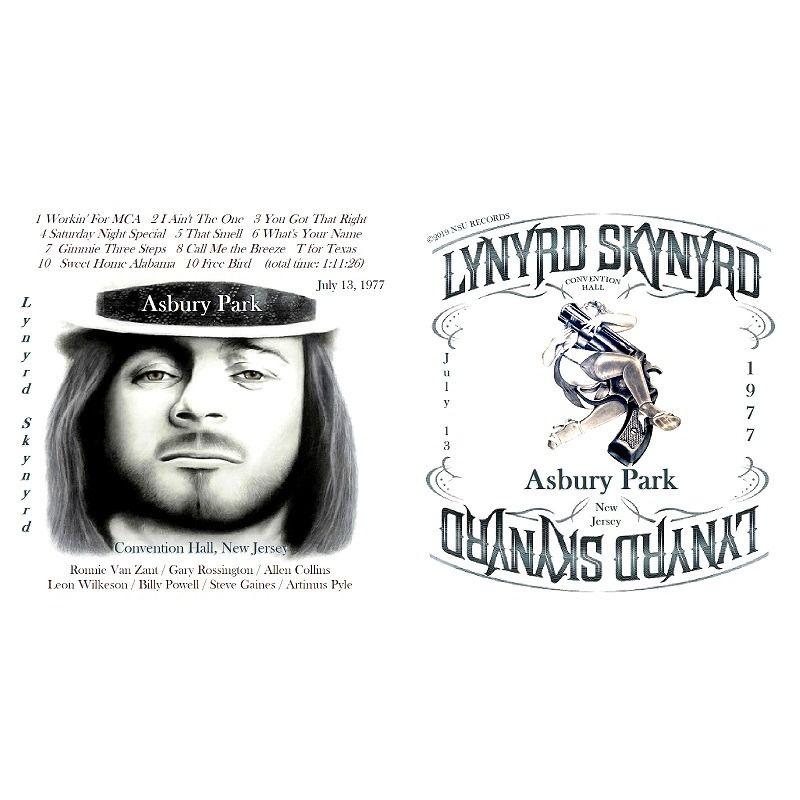 LYNYRD SKYNYRD LIVE ASHBURY PARK, NEW JERSEY 1977 JULY 13th LTD CD