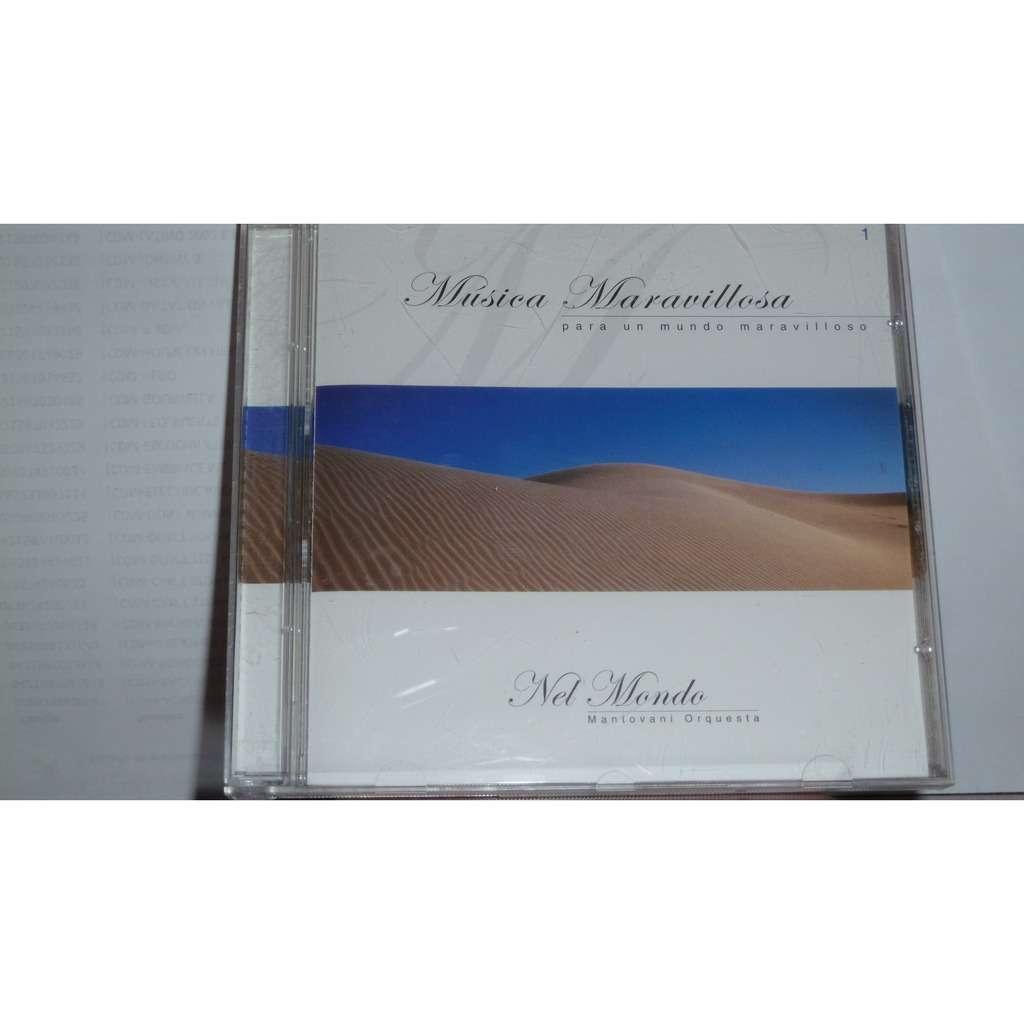 NEL MONDO , MANTOVANI ORQUESTA MUSICA MARAVILLOSA PARA UN MUNDO MARAVILLOSO