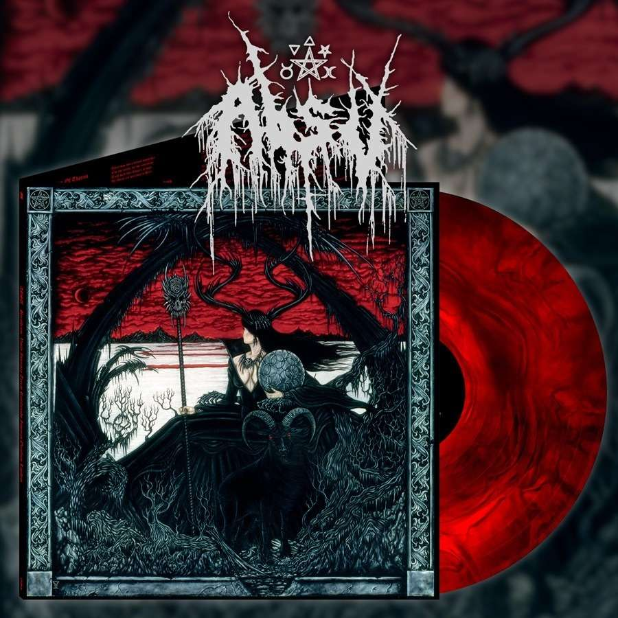 ABSU barathrum: v.i.t.r.i.o.l. red galaxy vinyl