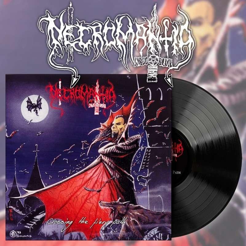 NECROMANTIA Crossing The Fiery Path. Black Vinyl