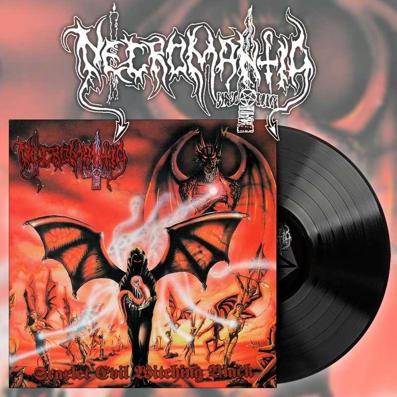 NECROMANTIA Scarlet Evil Witching Black. Black Vinyl