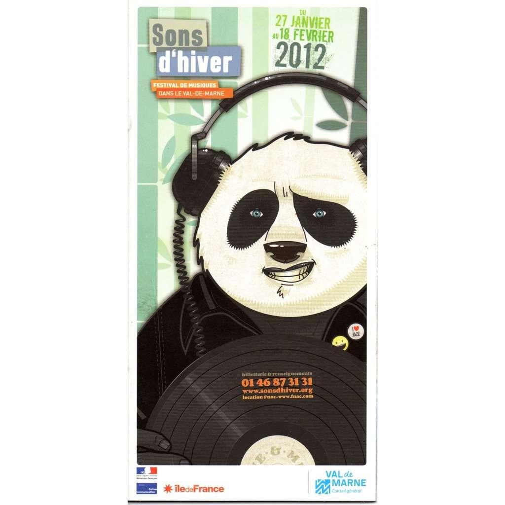 pura fe, archie shepp, pharoah sanders... programme festival sons d'hiver 2012