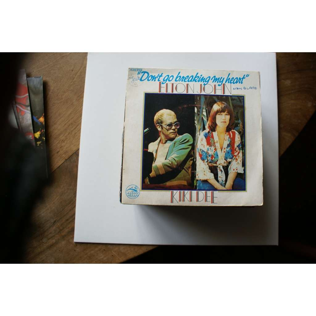 Elton John, Kiki Dee - - Don't Go Breaking My Heart