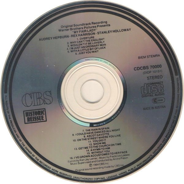 Audrey Hepburn , Rex Harrison , André Previn My Fair Lady - Original Soundtrack Recording
