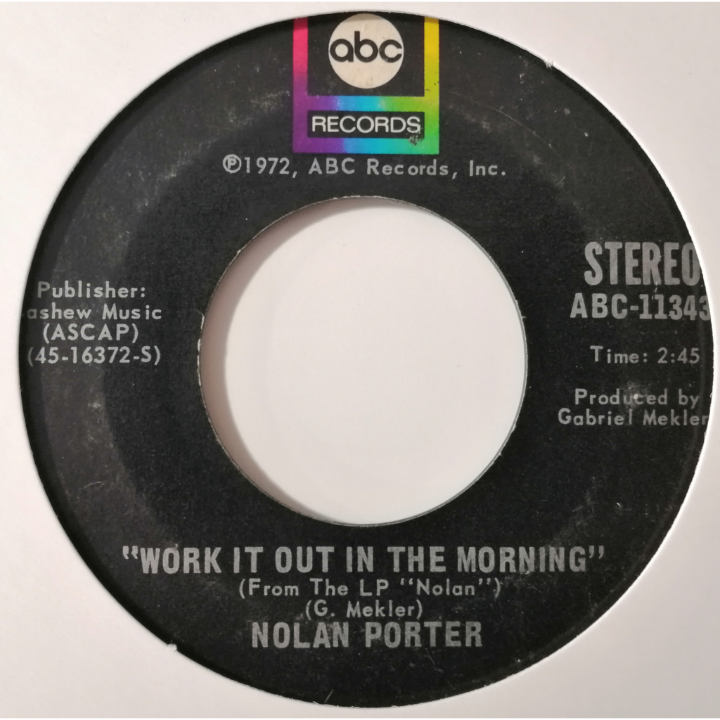 Nolan Porter If I Could Only Be Sure (Soul)