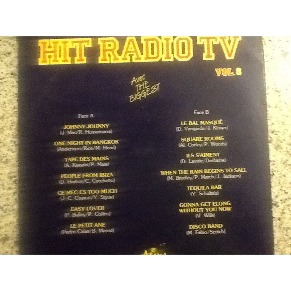 The biggest Hit parade TV Vol 8 14 titres