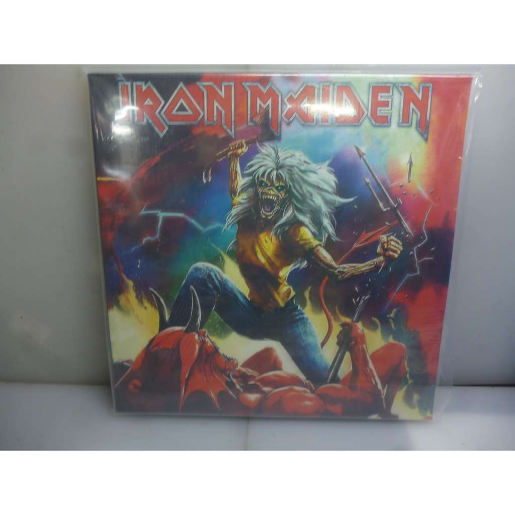 Iron Maiden Live At The New Theatre, Oxford, UK On The 9th March 1982. USA 2018 Ltd to 325 Black 2LP Vinyl