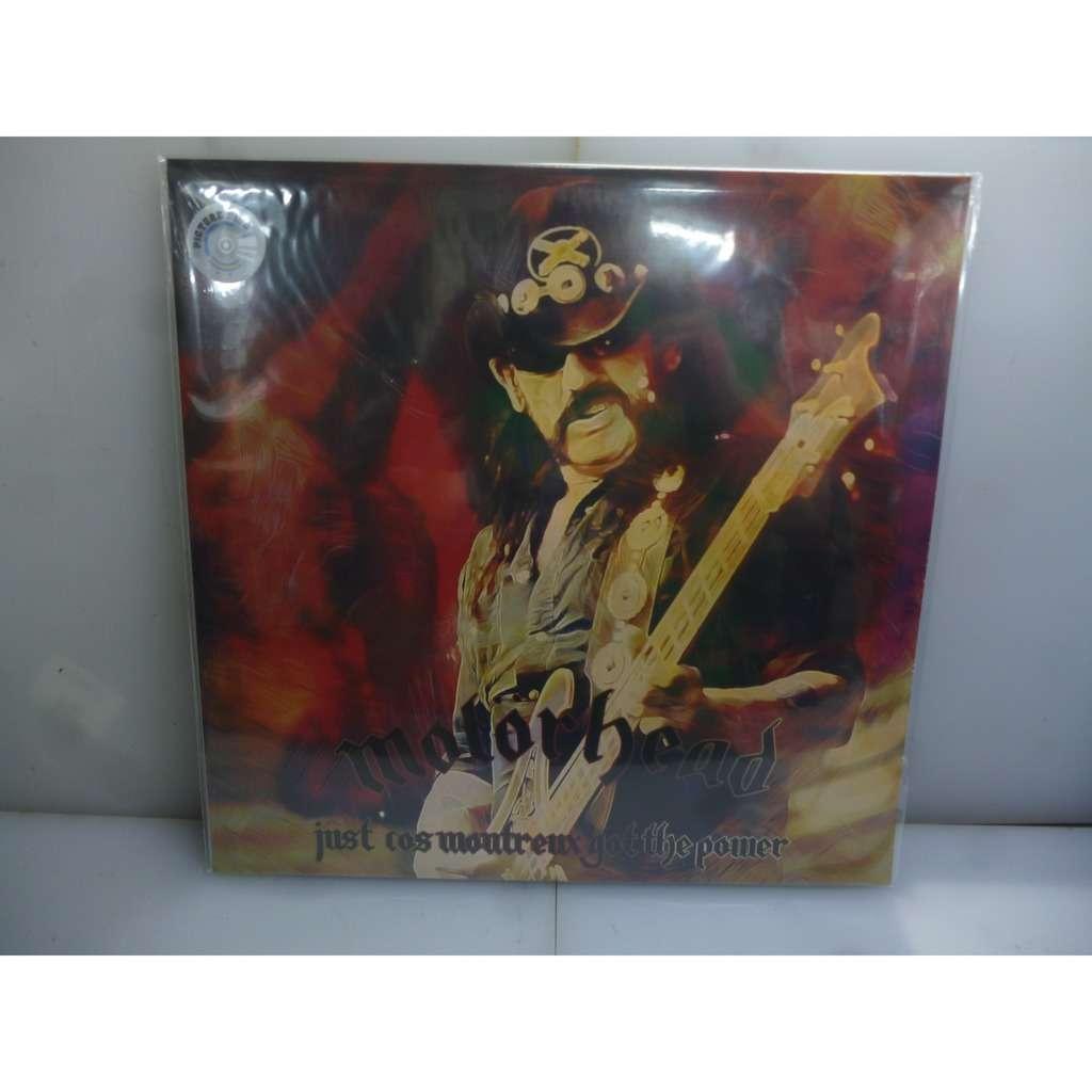 Motorhead Just Cos Montreux Got The Power. Montreux, Switzerland 2007 .EU 2019 Ltd to 100 Picture Vinyl LP