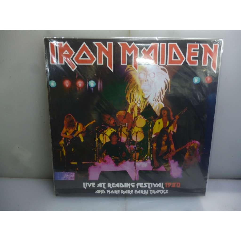 Iron Maiden Live At Reading Festival 1980 And More Rare Early Tracks. Reading, UK 1980,. EU 2019 Vinyl LP.