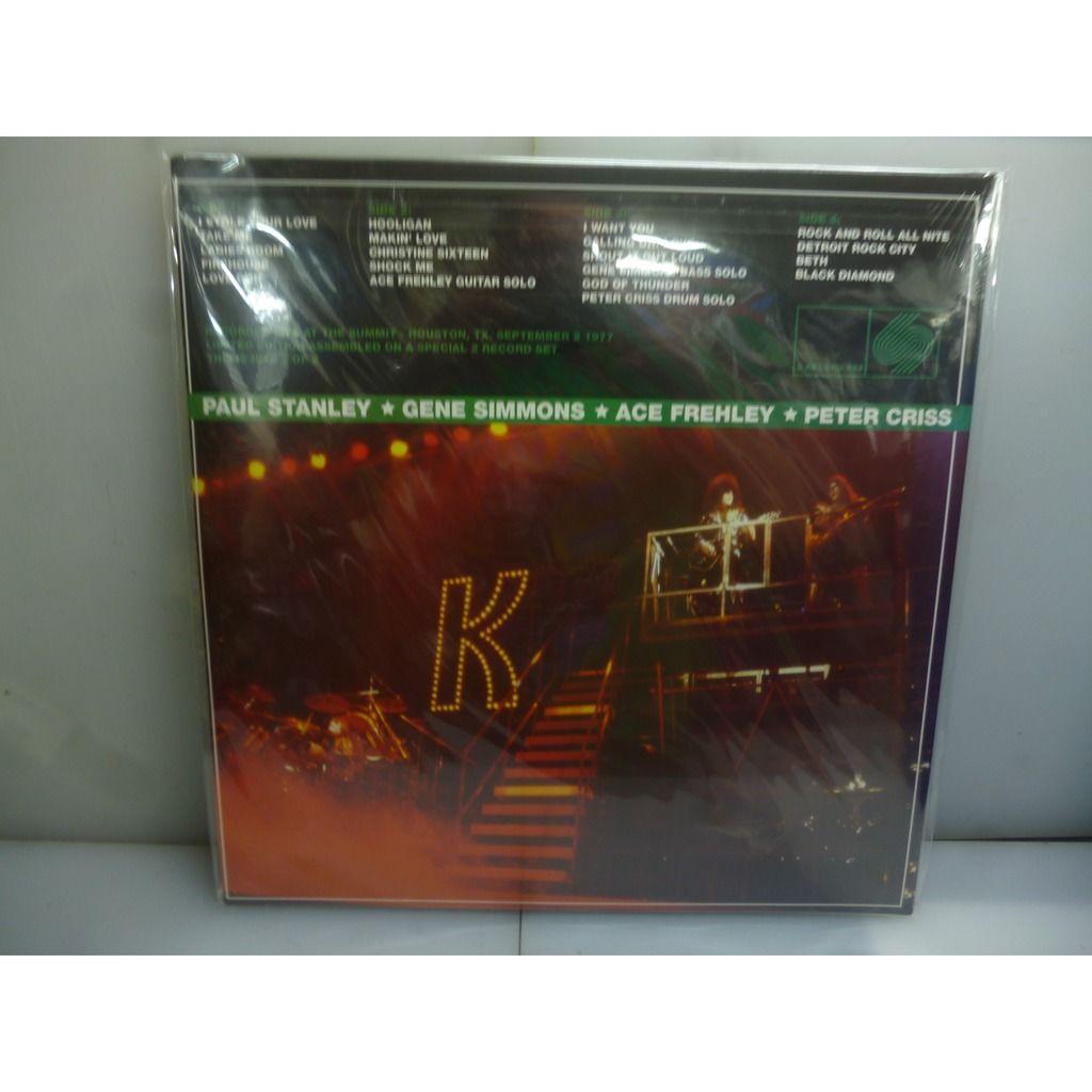 Kiss The Summit 1977 (2nd Night). The Summit, Houston, TX, USA, September 2, 1977.EU 2019 Black 2LP Vinyl