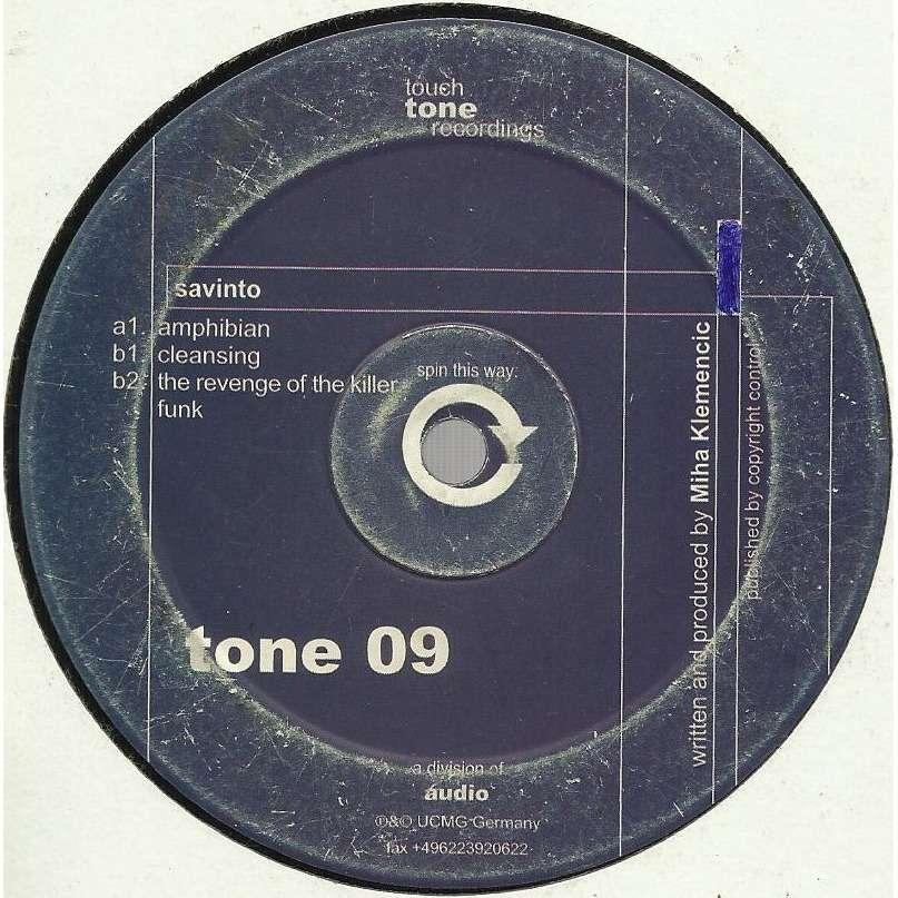 SAVINTO amphibian EP - 3 tracks - (amphibian - cleansing - the revenge of the killer funk)