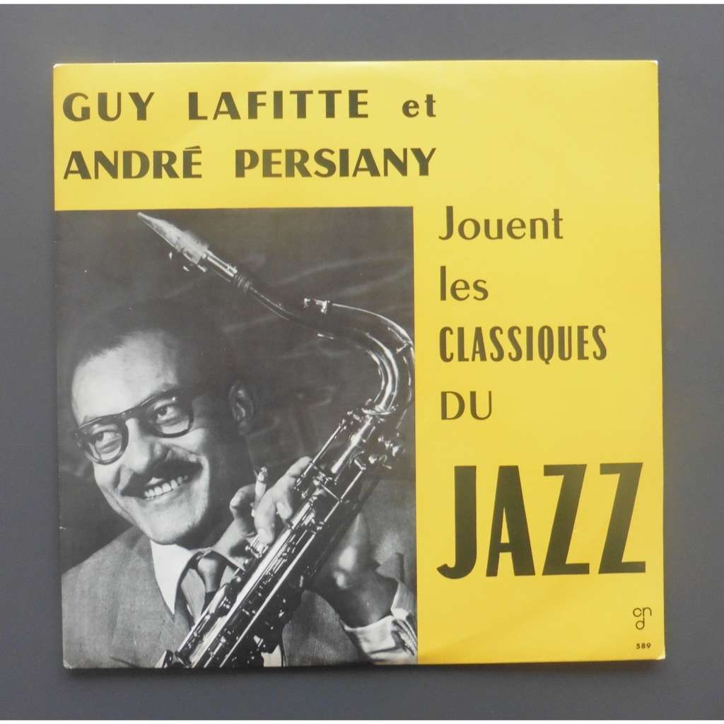 GUY LAFITTE / ANDRE PERSIANY CLUB DES VARIETES / CARELESS LOVE + 13