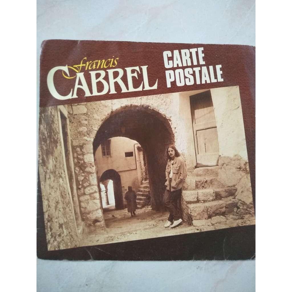Carte postale de Francis Cabrel, SP chez brando51 - Ref:119742664