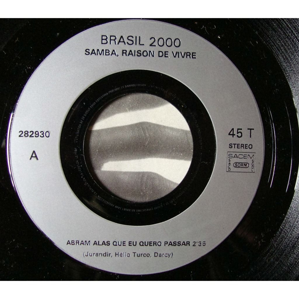 Brasil 2000 Samba - raisonde vivre