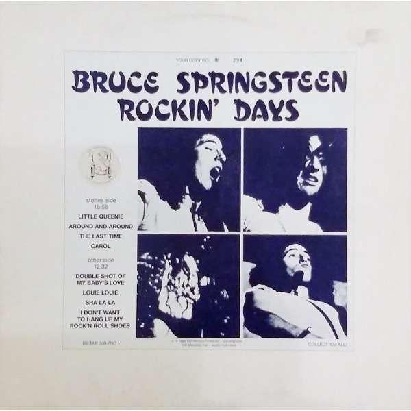 bruce springsteen Rockin' Days
