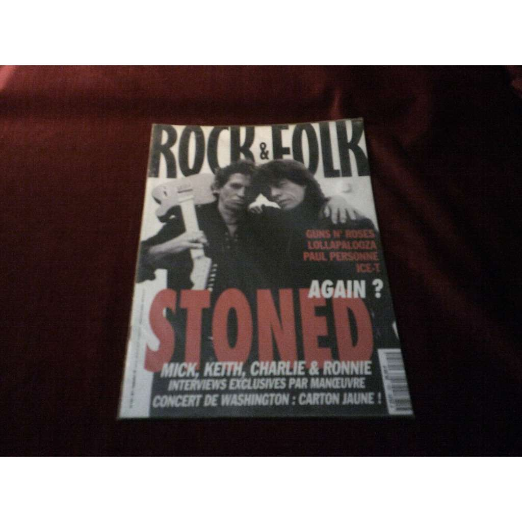 the rolling stones ROCK & FOLK No 325 SEPTEMBRE 1994