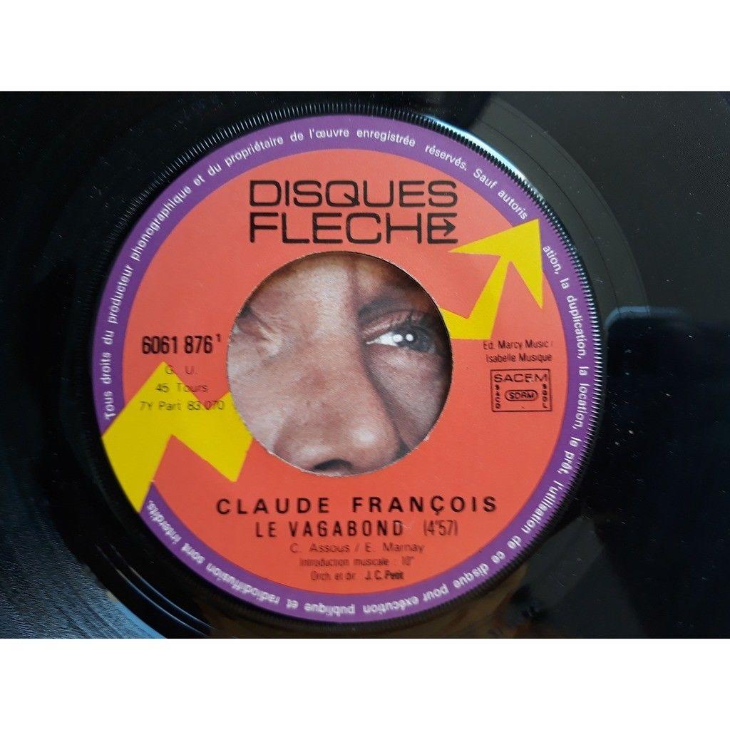 Claude François - Le Vagabond / Danse Ma Vie (7, Claude François - Le Vagabond / Danse Ma Vie (7, Single)
