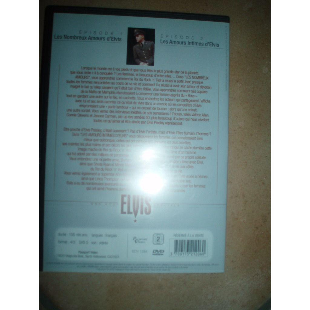 ELVIS PRESLEY LES NOMBREUX AMOURS D'ELVIS / LES AMOURS INTIMES D'ELVIS.