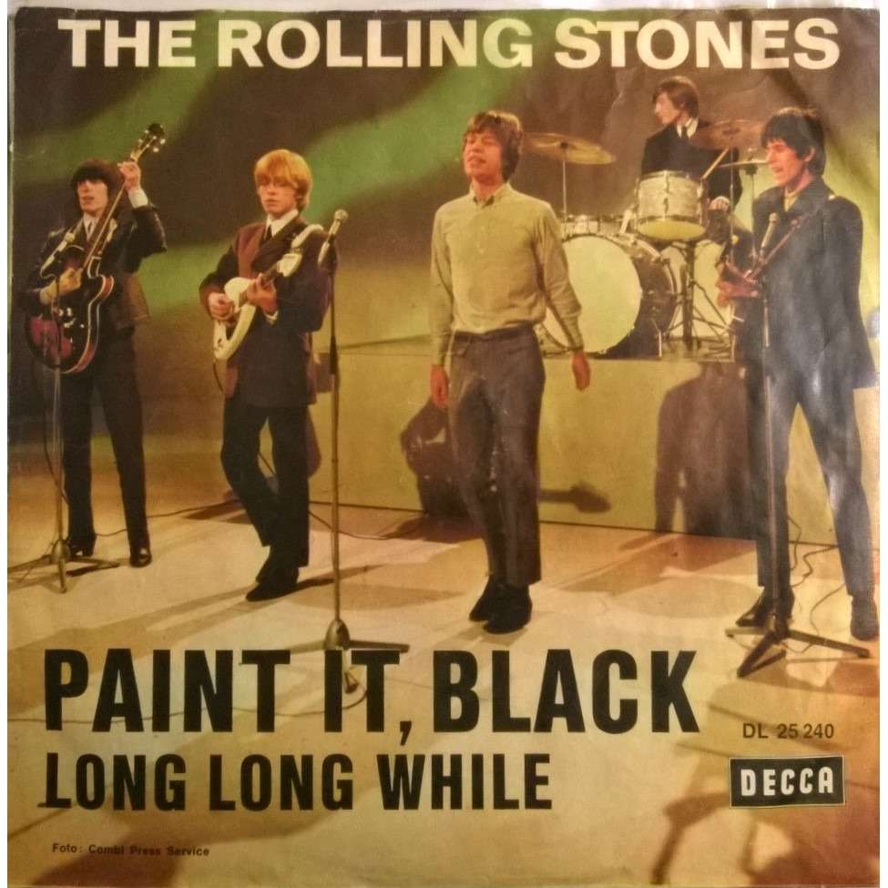 the rolling stones paint it black / long long while