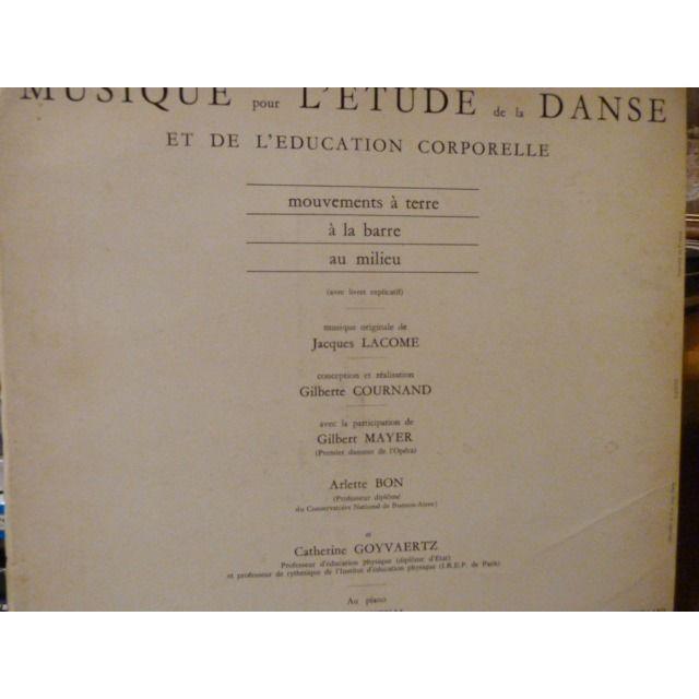 Gilberte Cournand musique pour l'étude de le danse et de l'éducation corporelle