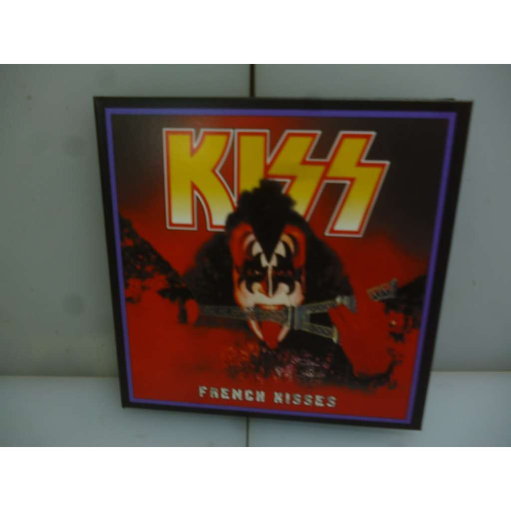 Kiss French Kisses. The Unmasked Tour 1980. Live In Paris, France 1980. EU 2019 2CD Digipack.