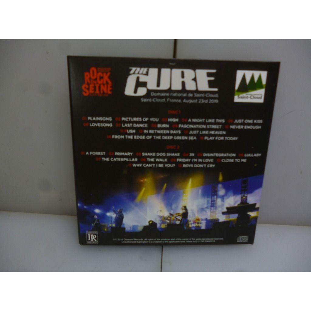 Cure Summer Festivals Tour 2019. Rock In Seine. Saint-Cloud, France 2019. EU 2019 2CD Digipack.