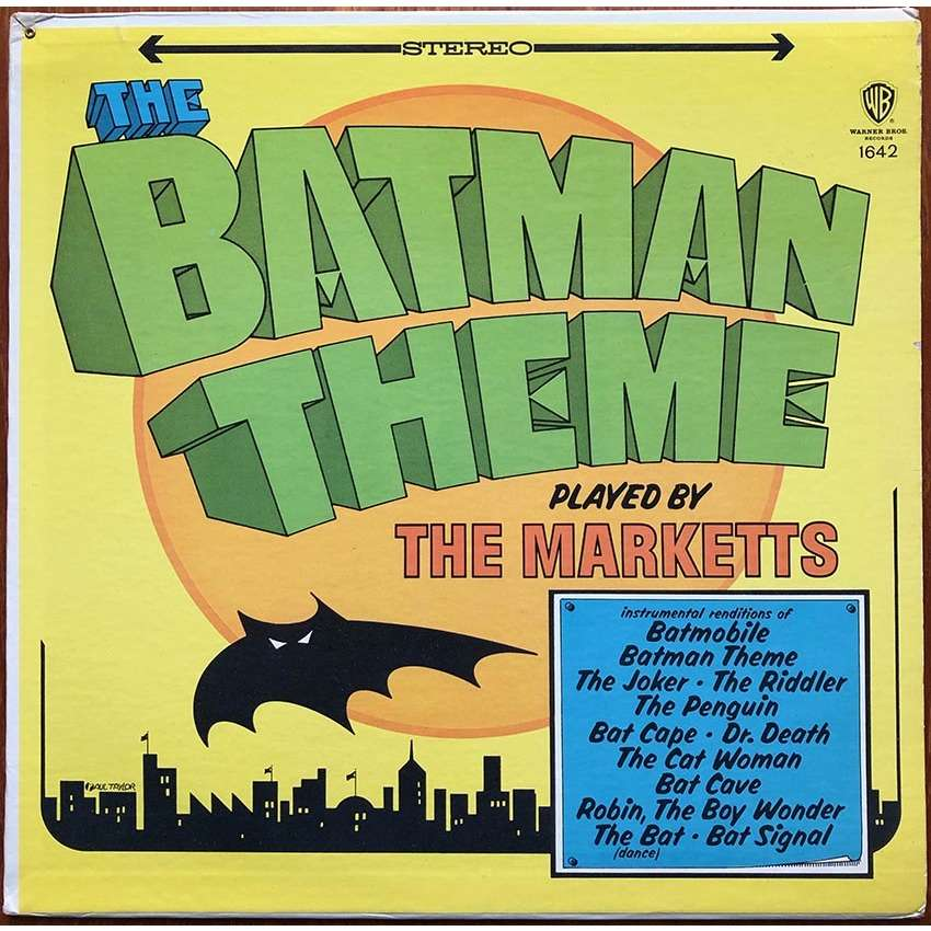 THE MARKETTS The Batman Theme Played By The Marketts