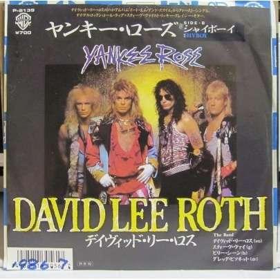DAVID LEE ROTH YANKEE ROSE/SHY BOY -white label promo-