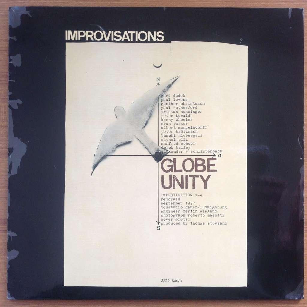 Globe Unity Peter Brötzmann Peter Kowald Schoof .. Globe Unity - Improvisations