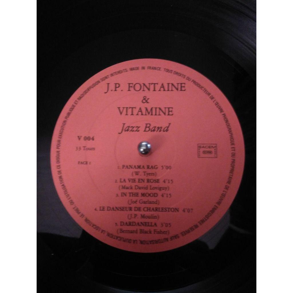Vitamine Jazz Band ( signé par 3 artistes ) à Saint Tropez volume 8