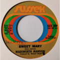 WADSWORTH MANSION - Sweet Mary / What's On Tonight (soul/funk) - 45T x 1