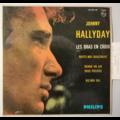 JOHNNY HALLYDAY - Les Bras En Croix (espagne) - 45T (EP 4 titres)