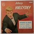 JOHNNY HALLYDAY - Retiens La Nuit +3 (Vinyl Vert) Espagne - 45T (EP 4 titres)