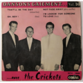 THE CRICKETS/BUDDY HOLLY - Dansons Gaiement... Vol. 14 - 45T (EP 4 titres)