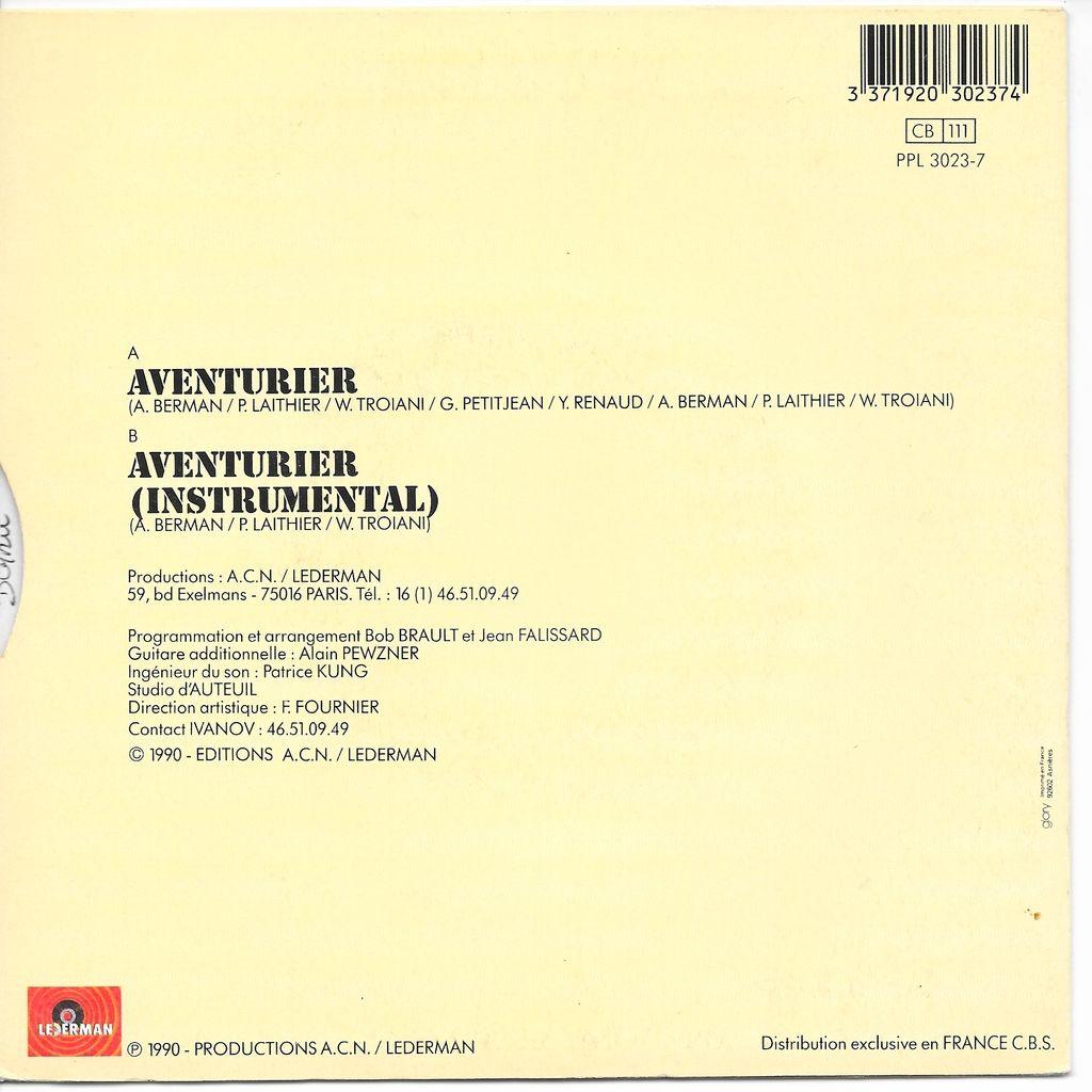 Ivanov Aventurier - Instrumental