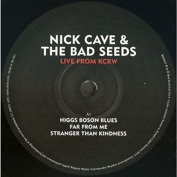 CAVE & THE BAD SEEDS, Nick live from kcrw