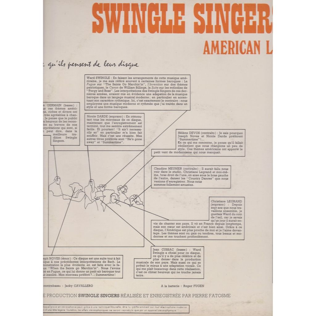 swingle singers american look